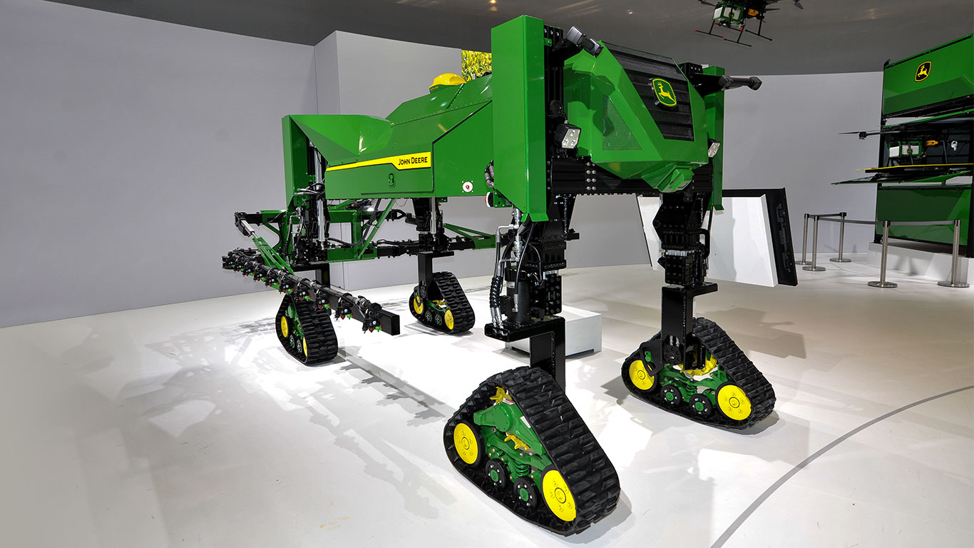 Autonomous sprayer