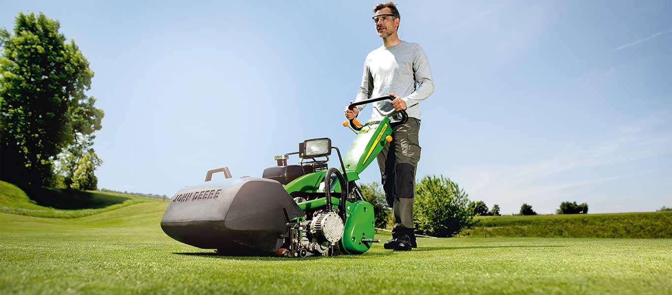 220, pole golfowe, kosiarki pchane i samojezdne do green, pola golfowe i boiska